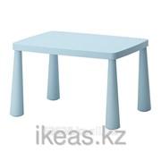 Стол детский, голубой для дома,улицы голубой МАММУТ фото