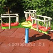 Детская карусель модель E04 фото