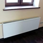 Устройство нового трубопровода от радиатора до отопительного стояка. Монтаж радиаторов отопления фото