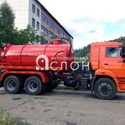 Автоцистерна АКН-10ОД на шасси КАМАЗ 65115 фото