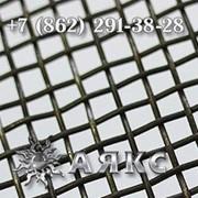 Сетка 2х2х1 тканая нержавеющая стальная ГОСТ 3826-82 2-2-1 с квадратными ячейками фото