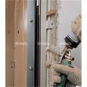 Монтаж дверей противопожарных фото