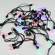 Гирлянда электр LED 40л ШИШКИ фото