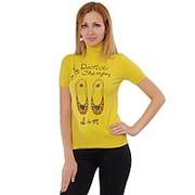 Американка женская с тапочками желтая фото
