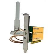 Двухстандартный 802.11a/g беспроводной адаптер для настольных ПК 108 Mbps фото