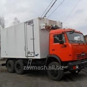 Маслозаправщик-фургон на шасси БелАЗ 7540 или КамАЗ 65115. фото