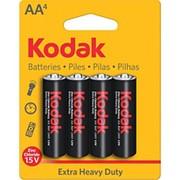 Батарейка Kodak Ехtra Heavy Duty R06 пальчиковая 4 штуки фото