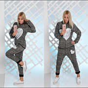 Модный спортивный костюм (2 расцветки) фото