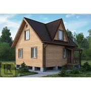 Дом каркасно-щитовой Проект №24 (6х6) фото