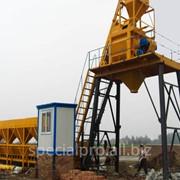Стационарный бетонный завод Pride СТ–7, производительностью 7 куб.м/час фото