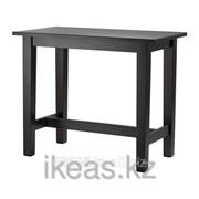 Барный стол коричнево-чёрный СТУРНЭС фото