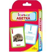 "Набор карточек Interbaby ""Абетка"" к09 фото"