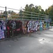 Очистка граффити фото