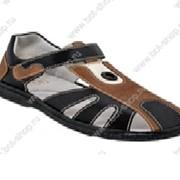 Туфли дошкольные для мальчиков (р. 27-31) Модель 33004/31214-1 фото