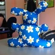 Антистрессовая игрушка Заяц Принты фото