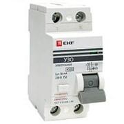Устройство защитного отключения УЗО ВД-100 2P 16А/30мА электронное EKF фото