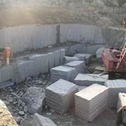 Блоки гранитные. Гранит Покостовского месторождения 1-6 групп. фото