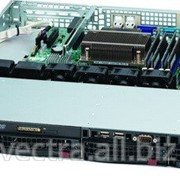 Supermicro Server Chassis 1U 400W BLACK (CSE-813MTQ-R400CB) фото