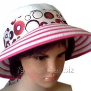 Женская шляпка колечки 3-58 фото