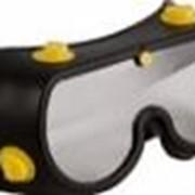 """Очки защитные """"Профи"""" черные с непрямой вентиляцией фото"""