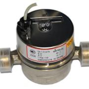 Счетчик воды квартирный одноструйный c передатчиком импульсов E-T K10 (DNN K10). фото