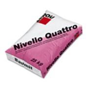 Самовыравнивающаяся смесь, (25 кг. ). B aumit Nivello Quattro, Скидки. фото