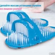 СПА тапочки для массажа и пилинга ступней Ezfeet фото