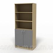 Шкаф для документов полуоткрытый /7102/ фото