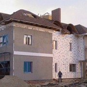 Утеплення будинків пінопластом фото