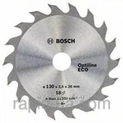 Пила дисковая по дереву Bosch 190x30x48z Optiline ECO фото