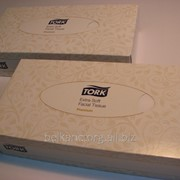Салфетки для лица TORK 14 02 80,упаковка 100 шт. фото