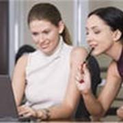 Оказывает услуги при оформлении бухгалтерской отчетности. фото