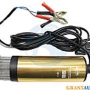 Насос для перекачки топлива 24 Вольта с фильтром АвтоДело 42054 фото