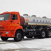 Автоцистерна пищевая КАМАЗ 65115 молоковоз / водовоз, 6х4 фото