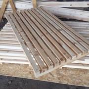 Трапы решетки деревянные фото