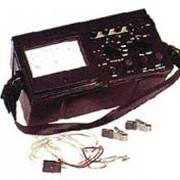 Микроомметр Ф4104-М1, имеет 12 поддиапазонов начиная с 0 - 100 мкОм до 0 -10 МОм. фото