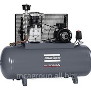 Поршневой маслосмазываемый компрессор Atlas Copco AC 55 T - 300L с ременным приводом фото
