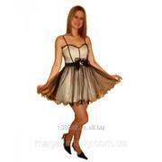 Короткое выпускное платье 1295 фото