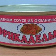 Фрикадельки в томатном соусе из океанических рыб 230 г фото