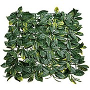Трава искусственная 47*47 см/MZCGZ-06090/MZ188006A Лист магнолии Зелёно-Жёлтый фото