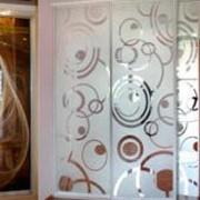 Декорирование стекол фото