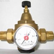 Регуляторы давления воды с манометром фото
