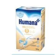 Смесь гипоаллергенные Хумана НА 1 с LC PUFA фото