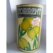 Оливки зеленые б/к Torrent 4,1/2кг,Испания фото