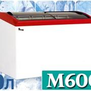 Морозильный ларь с гнутым стеклом JUKA M600S фото