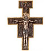 """Крест """"Распятие""""/ Библейские сюжеты 28х40х5см. арт.WS-425 Veronese фото"""