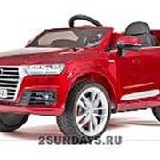 Детский электромобиль Barty AUDI Q7 красный фото