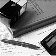 Заверение подлинности подписи на документах (банковских карточках, переводчика) фото