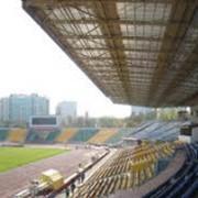 Монтаж козырьков стадиона в Алматы фото