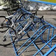 Велопарковка крытая фото